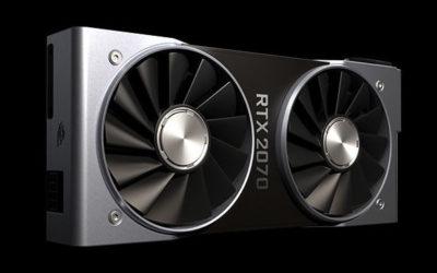 Ya disponible la nueva y potente tarjeta gráfica GeForce RTX 2070