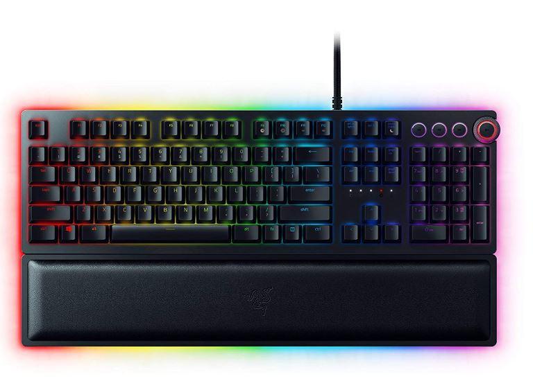 El teclado Razer Huntsman ofrece un rendimiento a la velocidad de la luz con su nueva tecnología