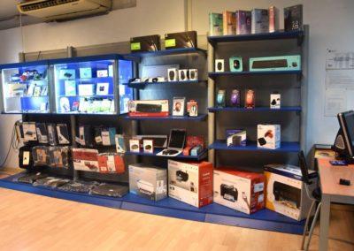 Badalonesa informática interior tienda